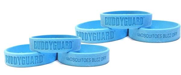 BuddyGuard Anti-Mücken Band 6er Pack Blau