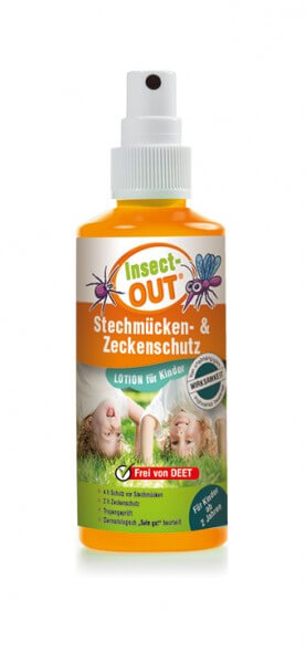 Insect-OUT Stechmücken-Zeckenschutz für Kinder